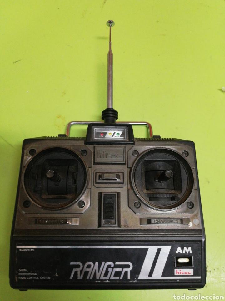 MANDO RADIO CONTROL RANGER HITEC (Juguetes - Modelismo y Radiocontrol - Radiocontrol - Aviones y Helicópteros)