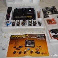 Radio Control: VINTAGE, AÑOS 70/8 ANTIGUA EMISORA RADIO CONTROL - MODELHOB MULTI PLEX / DE COLECCIÓN ¡MIRA FOTOS!. Lote 295513088