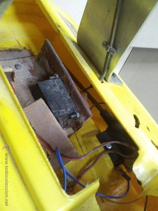 Radio Control: lancha catamaran barco modelismo rc años 70-80 con motor thunder tiger 20 model 7701 - Foto 4 - 51362926