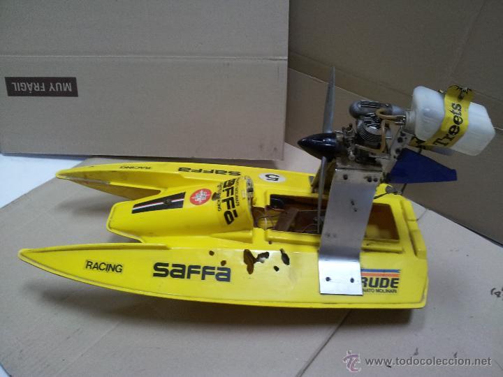 Radio Control: lancha catamaran barco modelismo rc años 70-80 con motor thunder tiger 20 model 7701 - Foto 8 - 51362926
