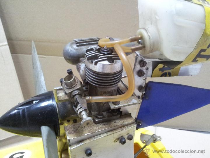 Radio Control: lancha catamaran barco modelismo rc años 70-80 con motor thunder tiger 20 model 7701 - Foto 12 - 51362926