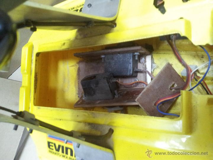 Radio Control: lancha catamaran barco modelismo rc años 70-80 con motor thunder tiger 20 model 7701 - Foto 17 - 51362926