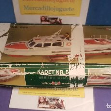 Radio Control: BILLING BOATS KADET NR 566 BARCO RC . Lote 83174740