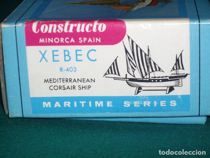 CONSTRUCTO XEBEC R-403 BARCO CORSARIO (Juguetes - Modelismo y Radiocontrol - Radiocontrol - Barcos)