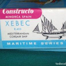 Radio Control: CONSTRUCTO XEBEC R-403 BARCO CORSARIO. Lote 86090408