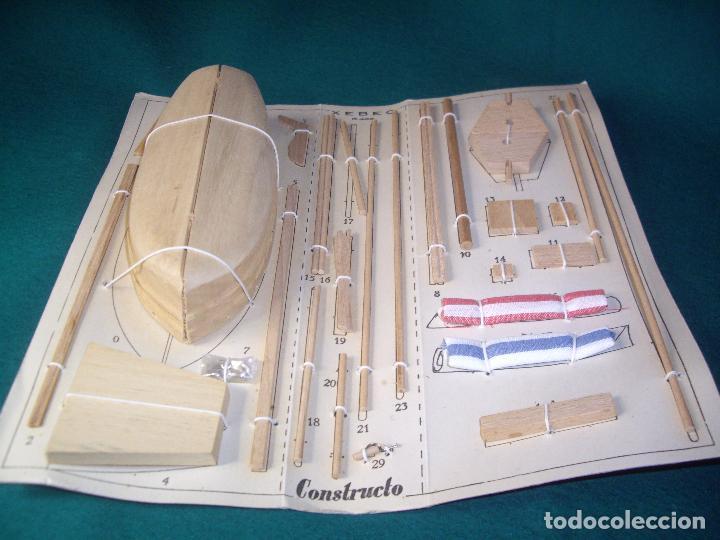 Radio Control: CONSTRUCTO XEBEC R-403 BARCO CORSARIO - Foto 10 - 86090408