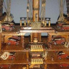 Radio Control: SECCION TRANSVERSAL DEL NAVÍO ESPAÑOL SANTÍSIMA TRINIDAD. Lote 87500932