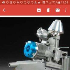 Radio Control: MOTOR 21 FUERABORDA MARINO THUNDER TIGER. Lote 93572510