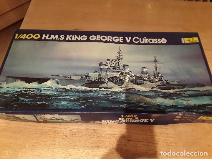 HELLER HMS KING GEORGE, ANTIGUO NO REDICION. (Juguetes - Modelismo y Radiocontrol - Radiocontrol - Barcos)