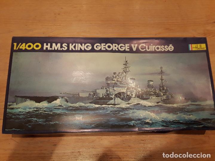 Radio Control: Heller HMS KING GEORGE, antiguo no redicion. - Foto 2 - 96705011