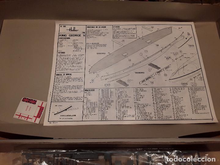 Radio Control: Heller HMS KING GEORGE, antiguo no redicion. - Foto 4 - 96705011