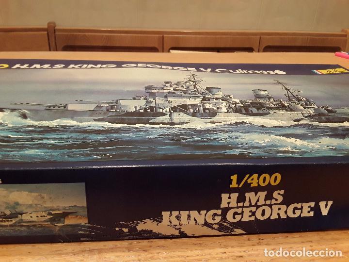 Radio Control: Heller HMS KING GEORGE, antiguo no redicion. - Foto 9 - 96705011