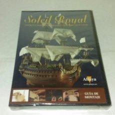 Radio Control: GUIA DE MONTAJE SOLEIL ROYAL - ALTAYA - DVD NUEVO. Lote 97378931