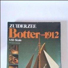 Radio Control: MAQUETA NAVAL BARCO ZUIDERZEE BOTTER 1912 ESCALA 1:50 ARTESANIA LATINA. Lote 97555519