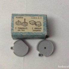 Radio Control: PUERTO 2 ÁNGULOS ROMPEOLAS MINI SHIPS. Lote 103453699