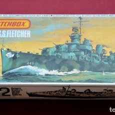 Rádio Controlo: MATCHBOX BARCO USS FLETCHER PRODUCTS 1978 MADE IN ENGLAND. Lote 104718656
