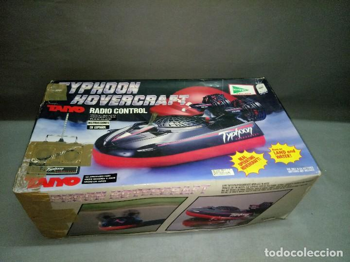 Radio Control: 818- TYPHOON HOVERCRAFT TAIYO RADIO CONTROL VINTAGE -MADE IN JAPAN-RARE-SPAIN - Foto 1 - 105888139