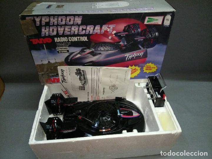 Radio Control: 818- TYPHOON HOVERCRAFT TAIYO RADIO CONTROL VINTAGE -MADE IN JAPAN-RARE-SPAIN - Foto 3 - 105888139