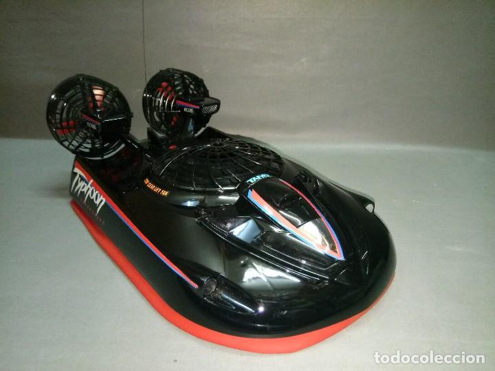 Radio Control: 818- TYPHOON HOVERCRAFT TAIYO RADIO CONTROL VINTAGE -MADE IN JAPAN-RARE-SPAIN - Foto 6 - 105888139