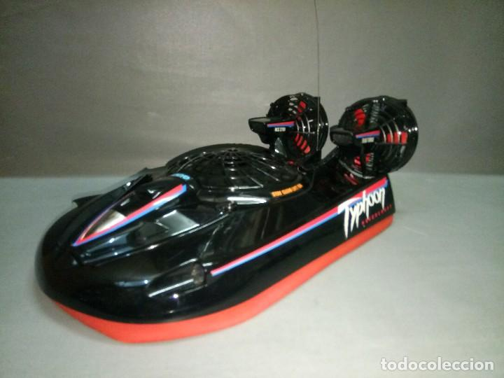 Radio Control: 818- TYPHOON HOVERCRAFT TAIYO RADIO CONTROL VINTAGE -MADE IN JAPAN-RARE-SPAIN - Foto 7 - 105888139