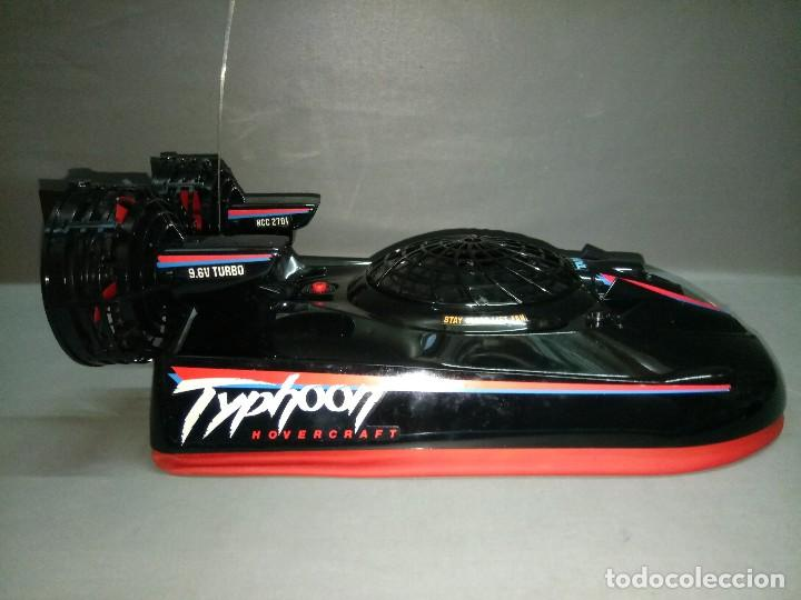 Radio Control: 818- TYPHOON HOVERCRAFT TAIYO RADIO CONTROL VINTAGE -MADE IN JAPAN-RARE-SPAIN - Foto 10 - 105888139