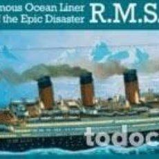 Radio Control: REVELL - R.M.S TITANIC 05215 1/570. Lote 109024727