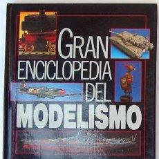 Radio Control: BARCOS SENCILLOS DE MADERA - GRAN ENCICLOPEDIA DEL MODELISMO - NUEVA LENTE 1987 - VER INDICE. Lote 111369015