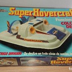 Radio Control: PILEN SUPER HOVERCRAFT AÑOS 70. Lote 112239411