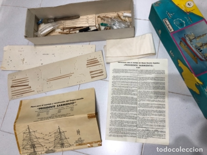 Radio Control: MAQUETA CONSTRUCTO PRESIDENTE SARMIENTO INCOMPLETA - Foto 2 - 115223299