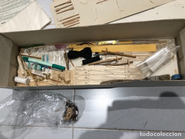 Radio Control: MAQUETA CONSTRUCTO PRESIDENTE SARMIENTO INCOMPLETA - Foto 3 - 115223299