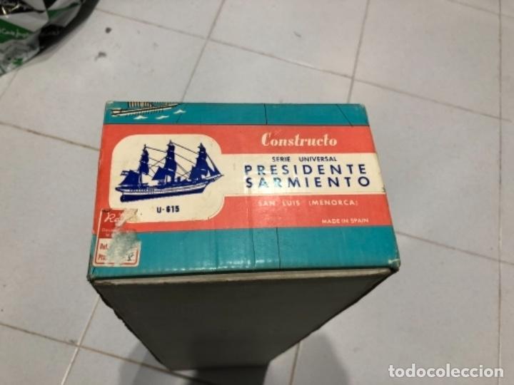 Radio Control: MAQUETA CONSTRUCTO PRESIDENTE SARMIENTO INCOMPLETA - Foto 4 - 115223299