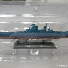 Radio Control: EAGLEMOSS 1/1100 ACORAZADO USS NEW JERSEY 1944. Lote 117636523