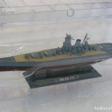 Radio Control: EAGLEMOSS 1/1100 ACORAZADO JAPONES MUSASHI (1942) II GUERRA MUNDIAL. Lote 118342919