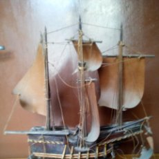Radio control - Antiguo barco carabela para restaurar. - 118503095