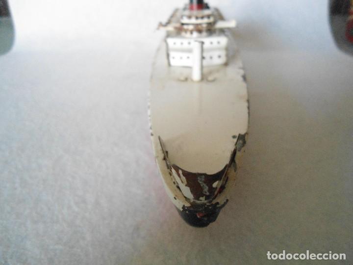 Radio Control: ANTIGUO BUQUE TITANIC DE PASTA Y HOJALATA. - Foto 3 - 125033271