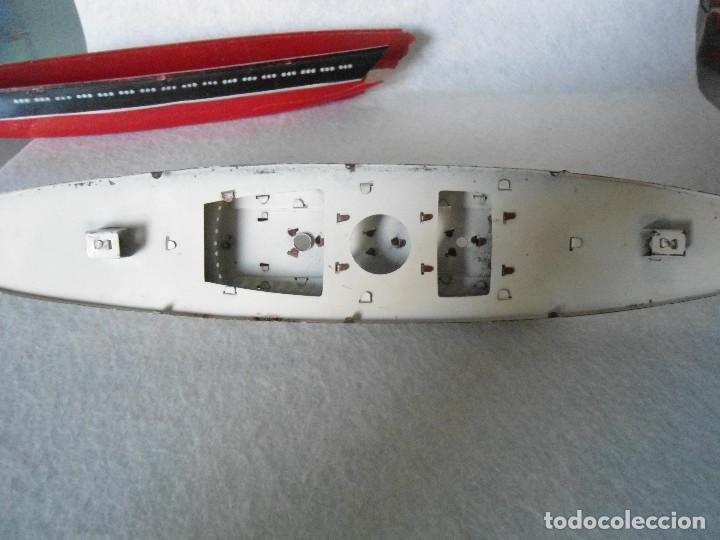 Radio Control: ANTIGUO BUQUE TITANIC DE PASTA Y HOJALATA. - Foto 15 - 125033271