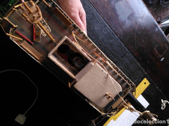 Radio Control: 2 grandes maquetas barcos con luz de vapor mississippi misisipi . a restaurar , HAGA OFERTA - Foto 29 - 132073842