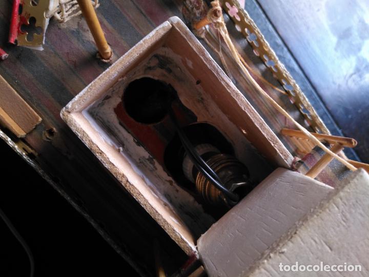 Radio Control: 2 grandes maquetas barcos con luz de vapor mississippi misisipi . a restaurar , HAGA OFERTA - Foto 36 - 132073842