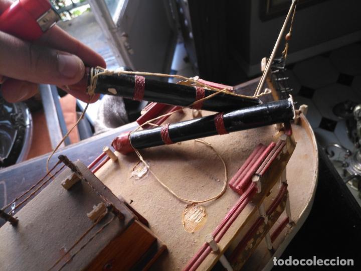 Radio Control: 2 grandes maquetas barcos con luz de vapor mississippi misisipi . a restaurar , HAGA OFERTA - Foto 44 - 132073842