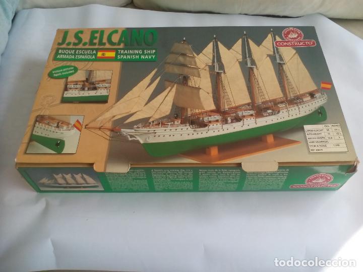 Radio Control: MAQUETA DEL BARCO buque escuela J.S. JUAN SEBASTIAN ELCANO. MODELISMO. Escala 1:205. Ref. 80619 - Foto 2 - 136593546