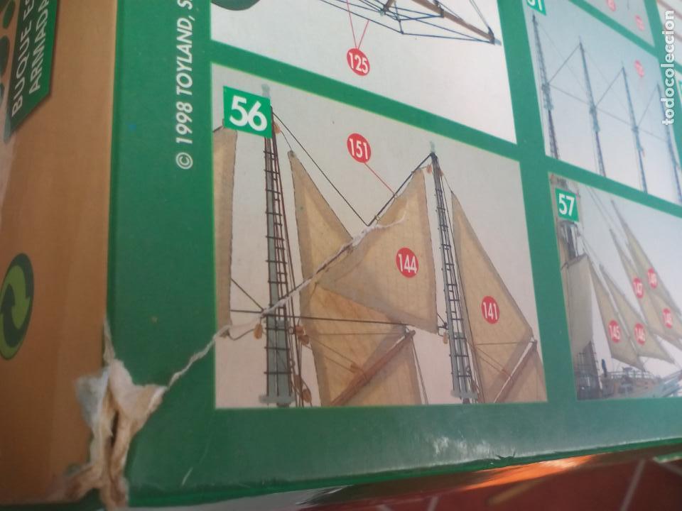 Radio Control: MAQUETA DEL BARCO buque escuela J.S. JUAN SEBASTIAN ELCANO. MODELISMO. Escala 1:205. Ref. 80619 - Foto 19 - 136593546