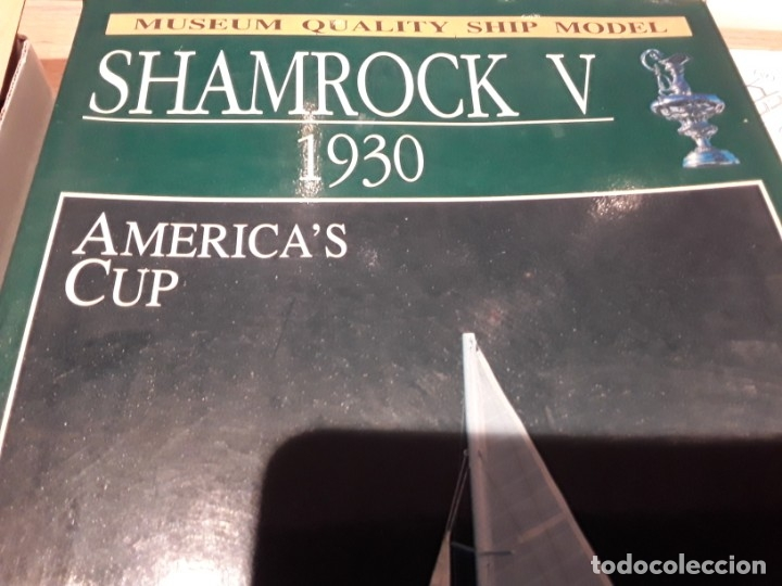 Radio Control: Shamrock V, Copa América 1930, Amati Italia.escala 1:80 - Foto 3 - 136820138