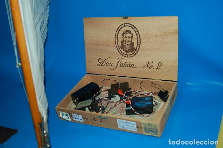 Radio Control: Barco Velero Gran maqueta R/C. Construida Medidas: 36X32X86 Cm. - Foto 6 - 146623398