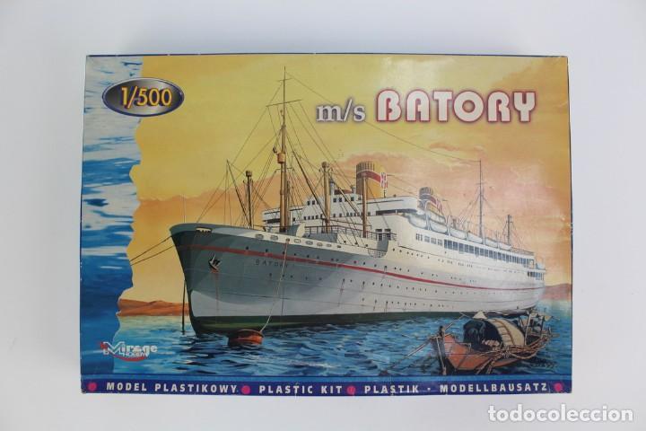 MAQUETA DEL BARCO M/S BATORY .MARCA MIRAGE HOBBY.NO 50042.AÑO 1995. (Juguetes - Modelismo y Radiocontrol - Radiocontrol - Barcos)