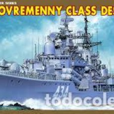 Radio Control: DRAGON - RUSSIAN SOVREMENNY CLASS DESTROYER 1/700 7048. Lote 157009602