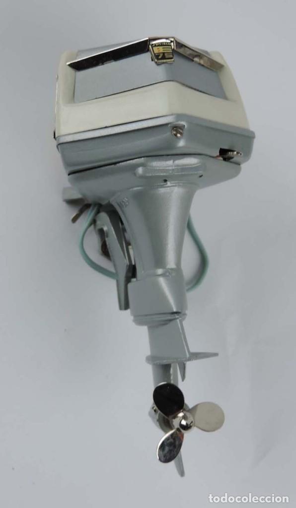 Radio Control: Motor fueraborda original juguete, raro 1960 Fleet Line Evinrude Starflite II 75 HP, con - Foto 3 - 159612926