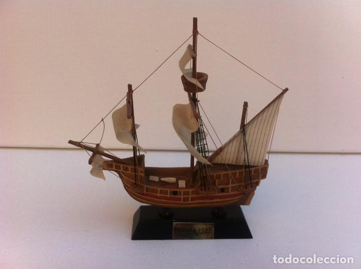 MAQUETA BARCO MINIATURA. LONGITUD: 11CM. VICTORIA, 1522 (Juguetes - Modelismo y Radiocontrol - Radiocontrol - Barcos)