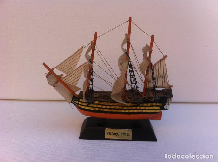 MAQUETA BARCO MINIATURA. LONGITUD: 12CM. VICTORY, 1805 (Juguetes - Modelismo y Radiocontrol - Radiocontrol - Barcos)