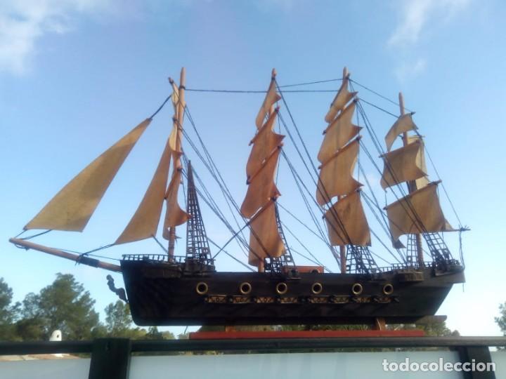 Radio Control: Gran barco velero cuatro mastiles - Foto 2 - 164976582