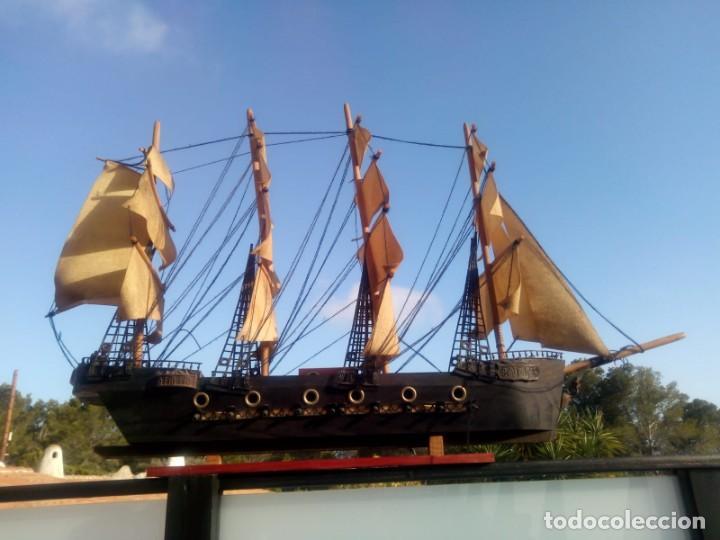 Radio Control: Gran barco velero cuatro mastiles - Foto 3 - 164976582